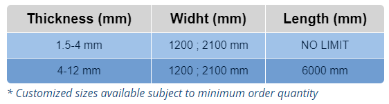 6000 mm length