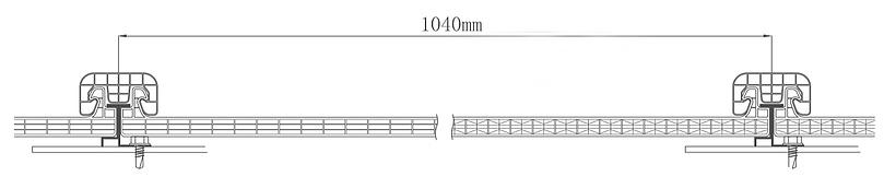 1040mm