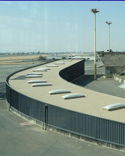 domes at airports