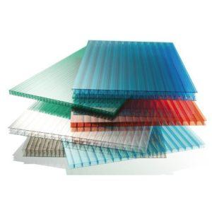 polycarbonates sheets different colors